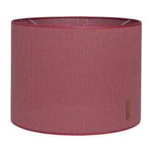 Abat-jour Classic stone red - Ø30 cm