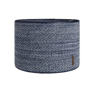 Abat-jour River jeans/gris mêlé - Ø30 cm