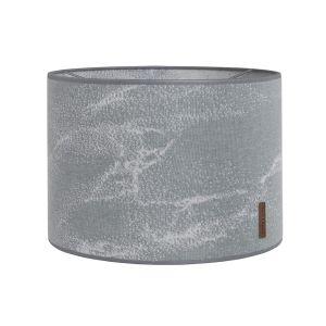 About-jour Marble gris/gris argenté - Ø30 cm