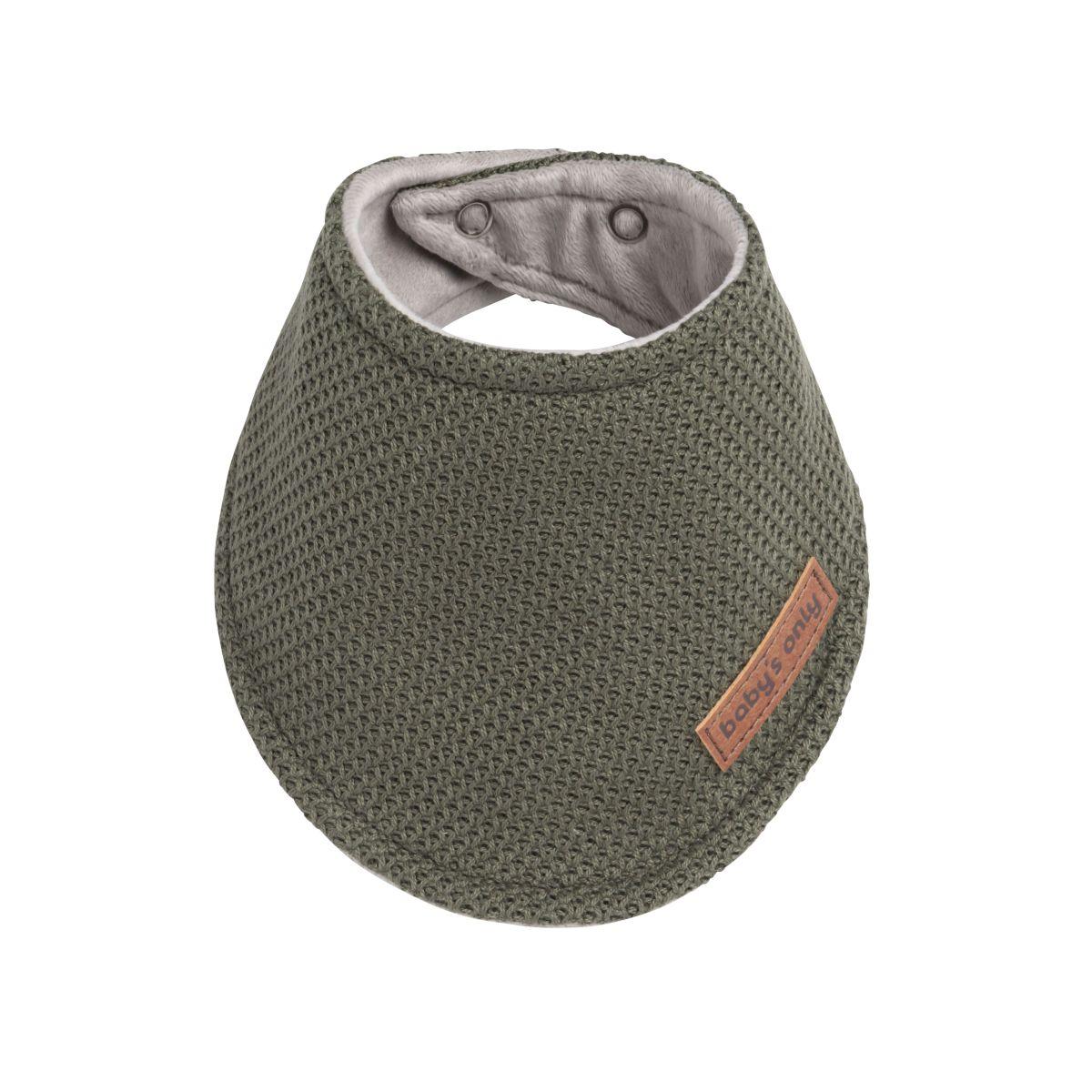 bavoir bandana classic khaki