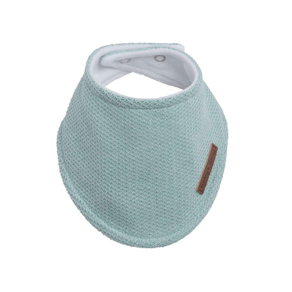 bavoir bandana classic mint