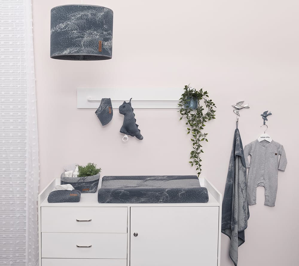 bavoir bandana marble rose vieuxrose trs clair
