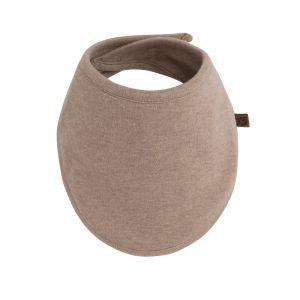 Bavoir bandana Melange clay