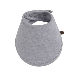 Bavoir bandana Melange gris