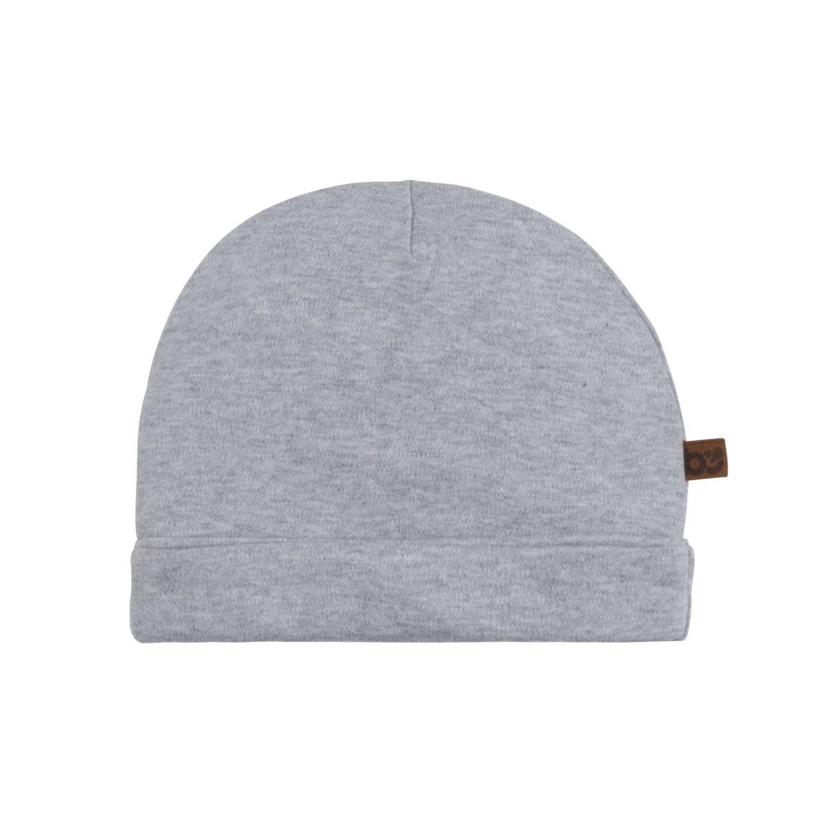 bonnet melange gris 03 mois