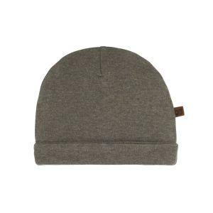 Bonnet Melange khaki - 0-3 mois