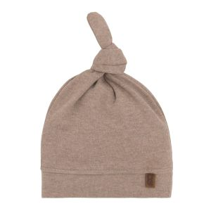 Bonnet nouée Melange clay - 3-6 mois