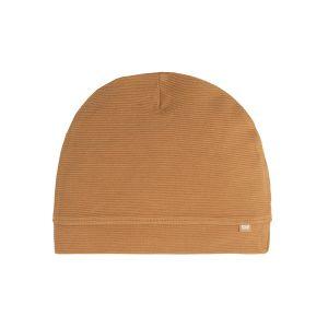 Bonnet Pure caramel - 0-3 mois