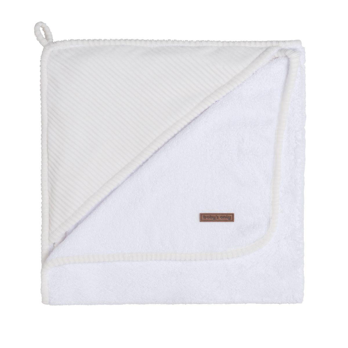 cape de bain sense blanc 75x85