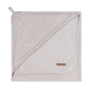 Cape de bain Sense caillou gris - 75x85