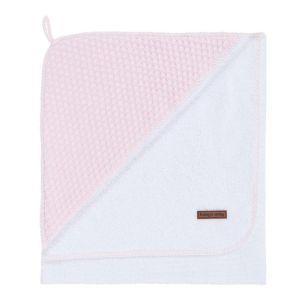 Cape de bain Sun rose très clair/rose - 75x85