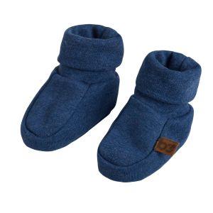 Chaussons Melange jeans - 0-3 mois