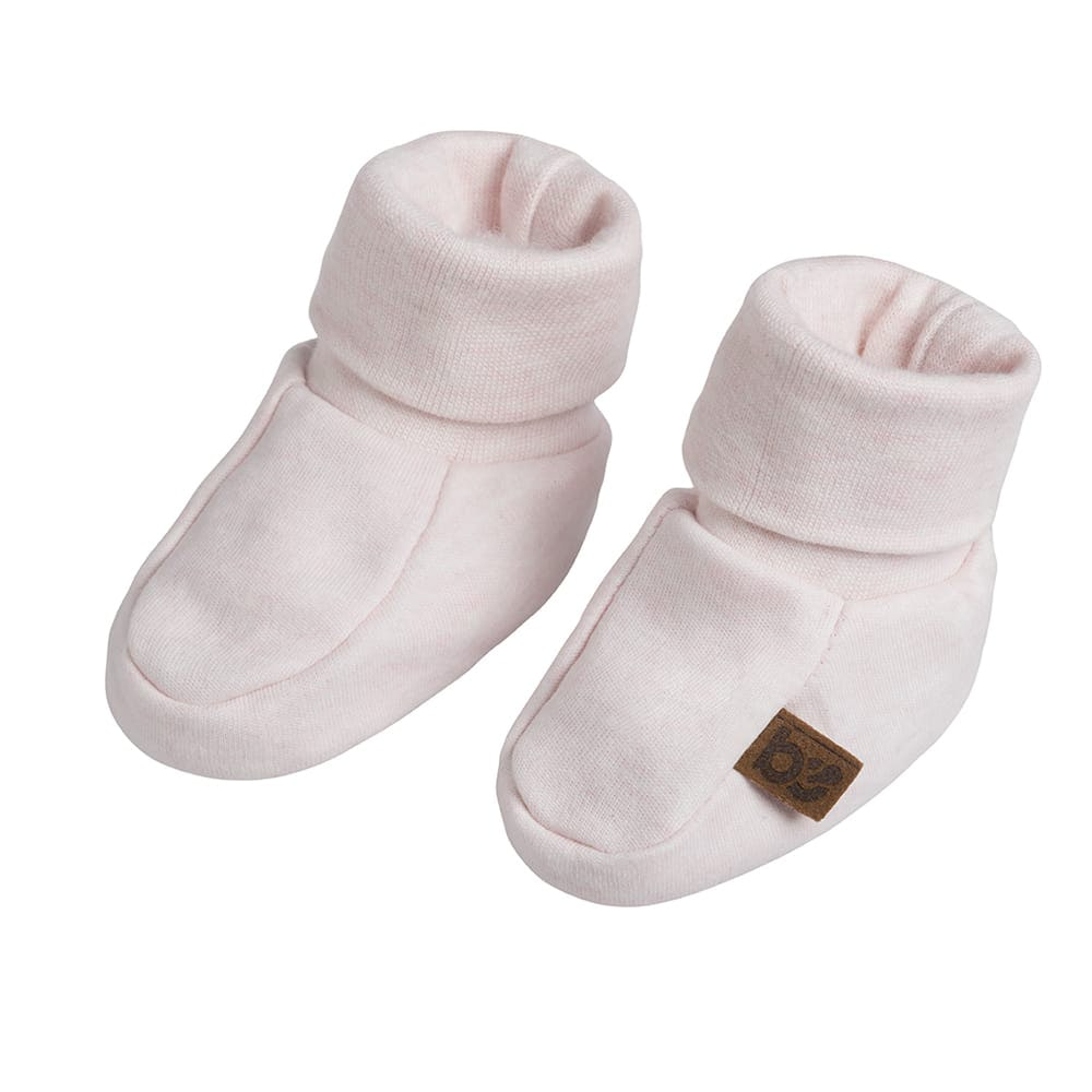 chaussons melange rose trs clair 03 mois