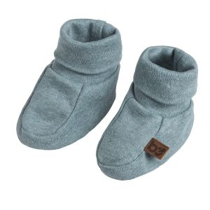 Chaussons Melange stonegreen - 0-3 mois