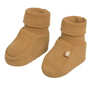 Chaussons Pure caramel - 0-3 mois