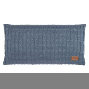 Coussin Cable granit - 60x30