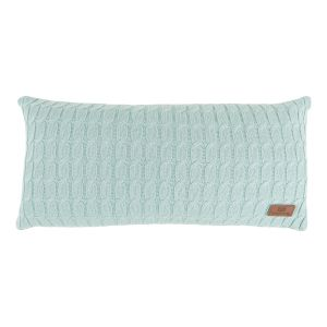 Coussin Cable mint - 60x30