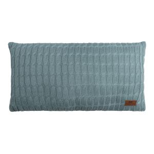 Coussin Cable stonegreen - 60x30