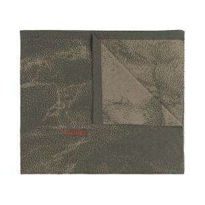 Couverture berceau Marble khaki/olive