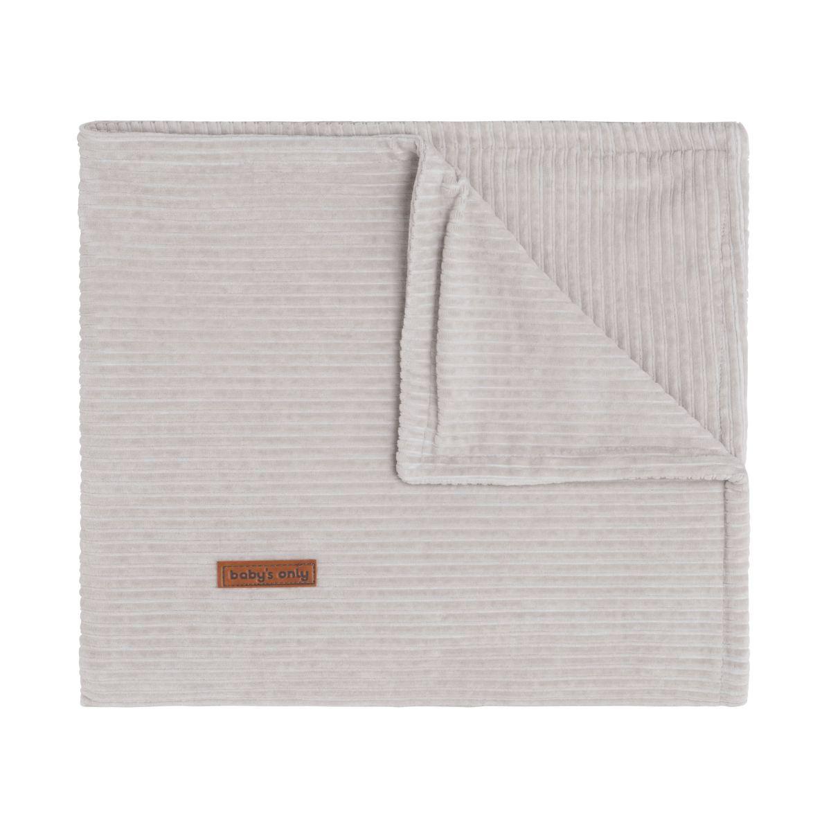 couverture berceau sense caillou gris