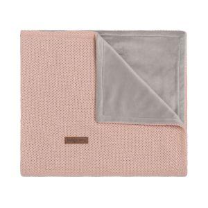 Couverture berceau soft Classic blush
