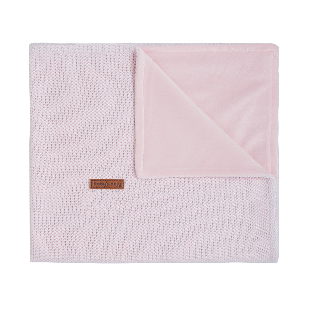 couverture berceau soft classic rose trs clair