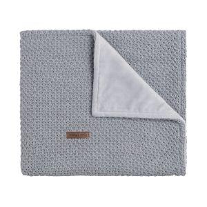 Couverture berceau soft Flavor gris
