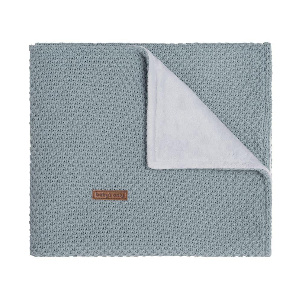 couverture berceau soft flavor stonegreen