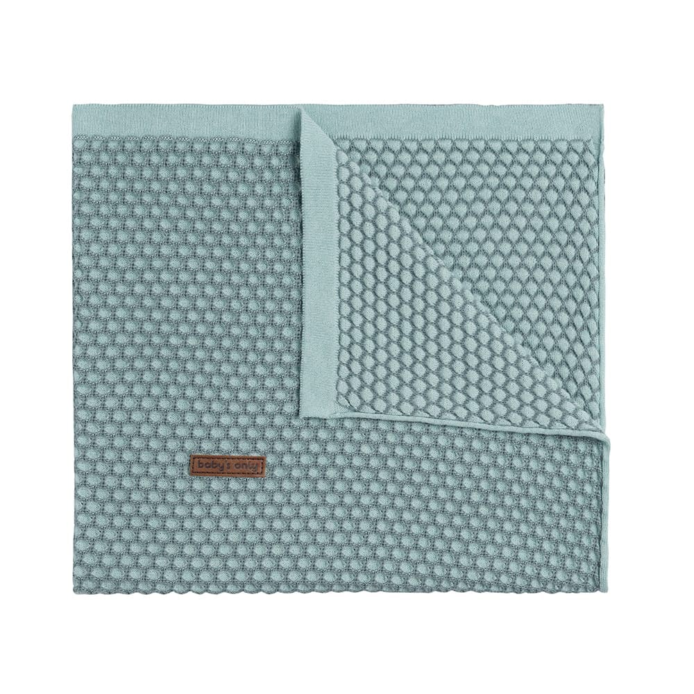 couverture berceau sun mintstonegreen