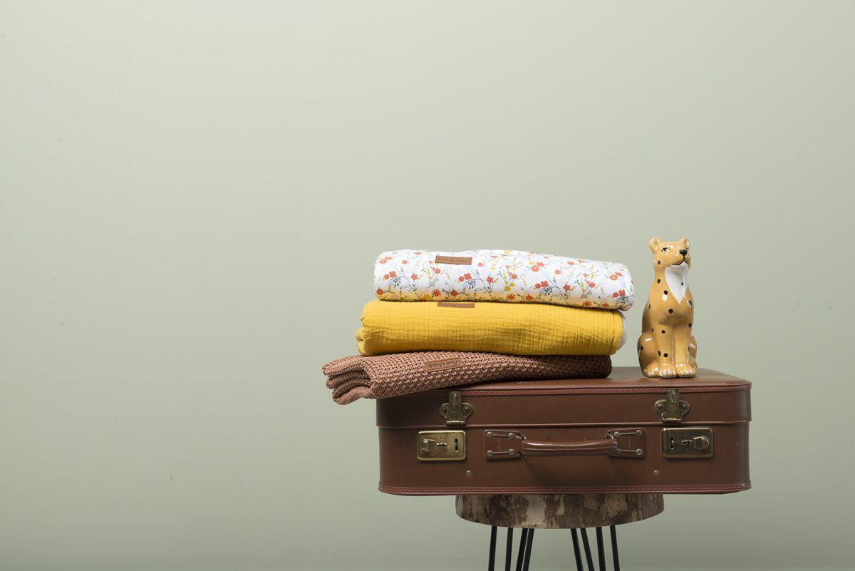couverture berceau teddy bloom