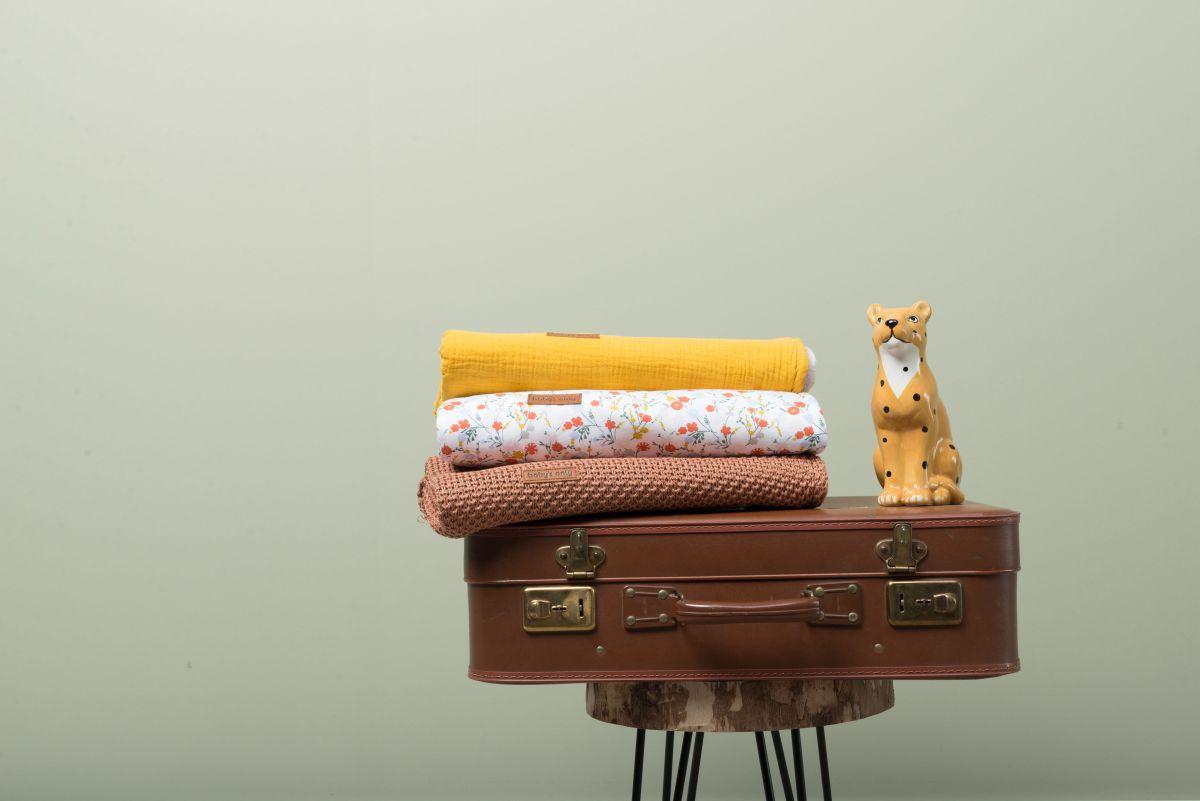 couverture berceau teddy breeze stonegreen