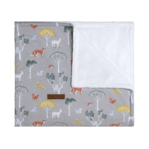 Couverture berceau teddy Forest