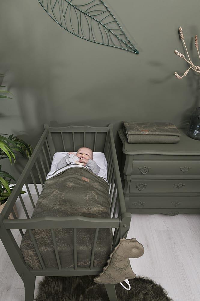 couverture berceau teddy marble vieux roserose trs clair