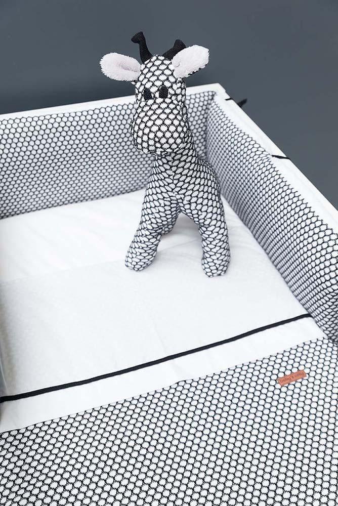 couverture berceau teddy sun grisgris argent