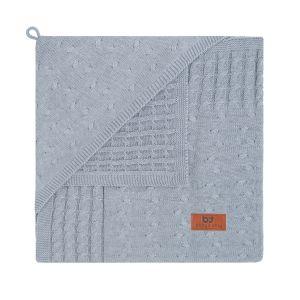 Couverture enveloppante Cable gris