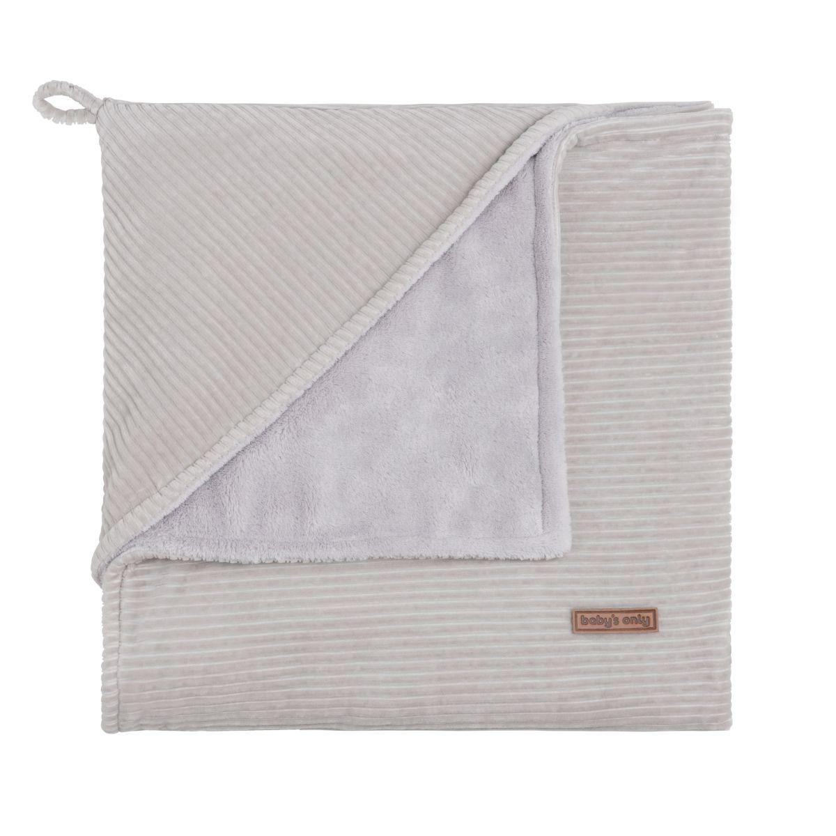 couverture enveloppante caillou gris