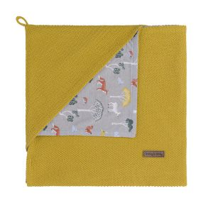 Couverture enveloppante Forest mustard