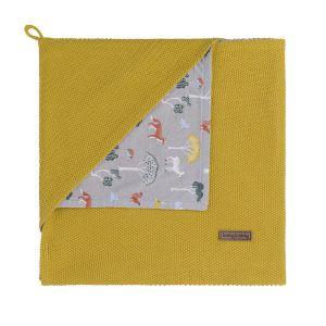 Couverture enveloppante Forest mustard
