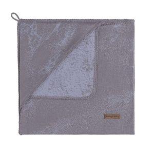 Couverture enveloppante Marble cool grey/lilas