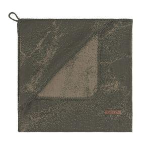 Couverture enveloppante Marble khaki/olive