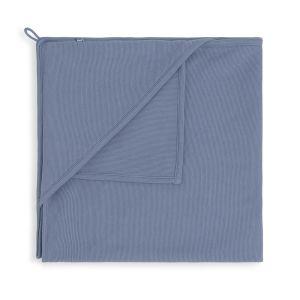 Couverture enveloppante Pure vintage blue - 75x75