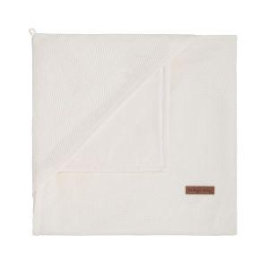 Couverture enveloppante soft Classic blanc cassé