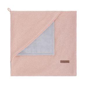 Couverture enveloppante soft Classic blush