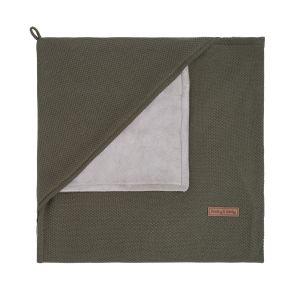 Couverture enveloppante soft Classic khaki
