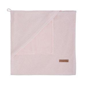 Couverture enveloppante soft Classic rose très clair