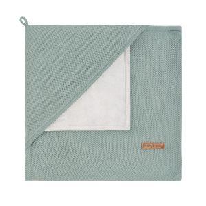 Couverture enveloppante soft Classic stonegreen