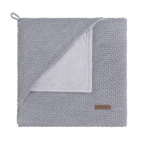 Couverture enveloppante soft Flavor gris