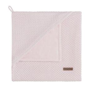 Couverture enveloppante soft Flavor rose très clair