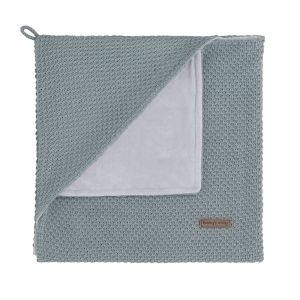 Couverture enveloppante soft Flavor stonegreen