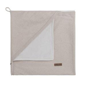 Couverture enveloppante soft Sparkle ivoire-doré mêlé